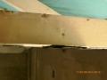 Dachbinderauflager nicht kraftschlüssig, statisch nicht wirksam, der Prüfstatiker verweigerte die Abnahme